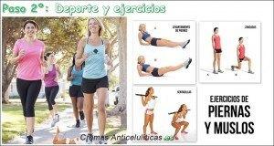 deporte y ejercicios eficaces para eliminar la celulitis