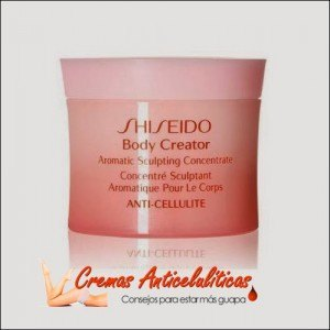 Mejor crema anti-celulitis Body Creator Aromatic Sculpting Concentrate Shiseido