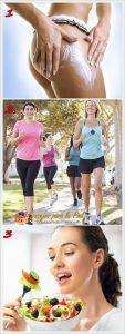crema reductora ejercicio fisico y alimentación sana